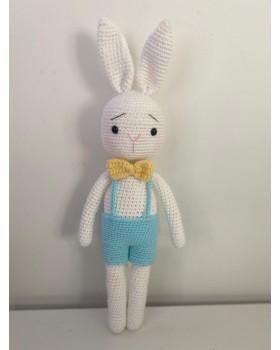 Amigurumi Sevimli El Örmesi Utangaç Tavşan