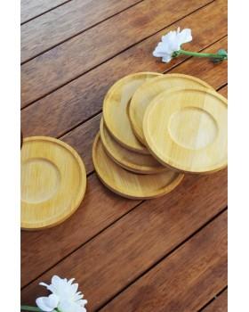 Cosiness Bambu 6 Lı Çay Tabağı