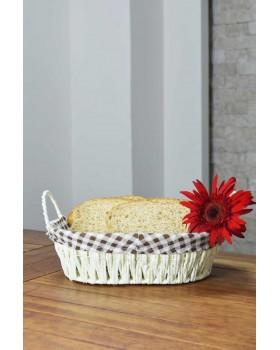 Cosiness Hasır Oval Ekmek Sepeti