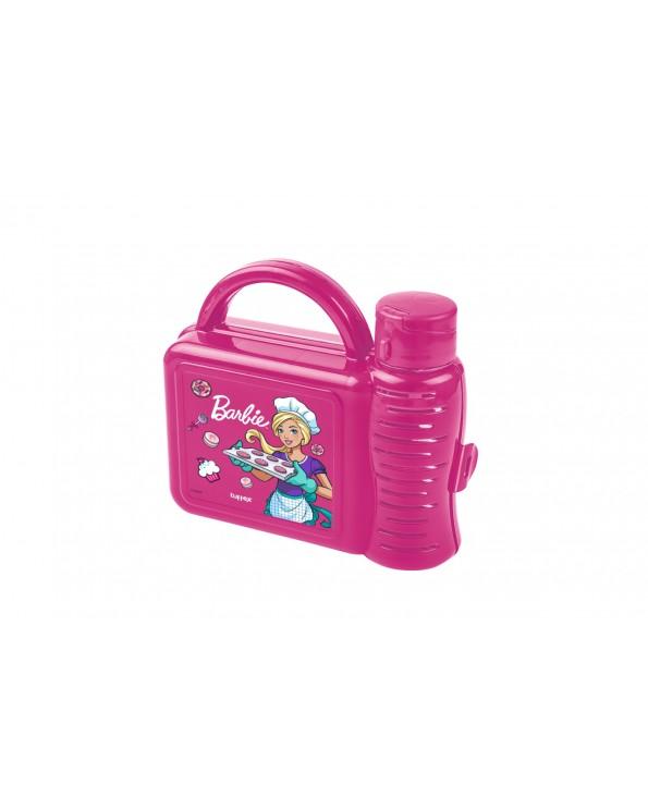 Barbie Lisanslı Mataralı Beslenme Kutusu