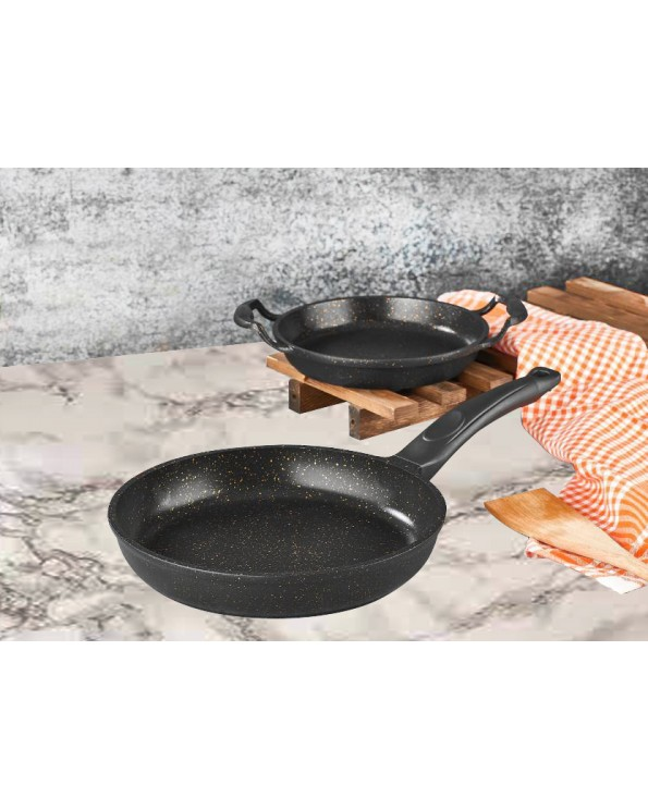 Granit Döküm Tava Sahan 2 Li Set
