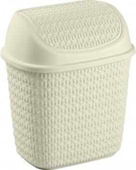 Tuffex Örme Klik Çöp Kovası (7,5 Lt)