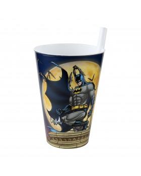 Batman Pipetli Bardak 400 Ml.