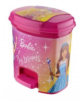 Barbie Lisanslı Pedallı Çöp Kovası 3 Lt