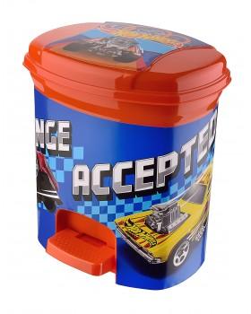 Hot Wheels Lisanslı Pedallı Çöp Kovası 3 Lt