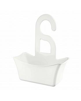 Titiz Hook Çok Amaçlı Duş Banyo Sepeti Organizer - Beyaz