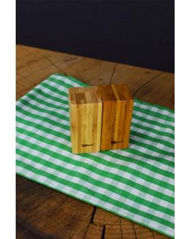 Cosiness Bambu Tuzluk Ve Biberlik
